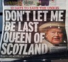 The last Queen Of Scots?