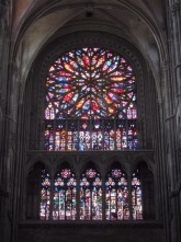 The southern rose window.