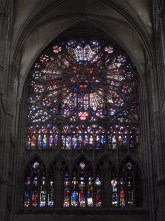 The northern rose window.