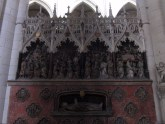 The choir screen (life of St. Firmin).