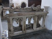 Cadaver tomb of the 14th Earl of Arundel