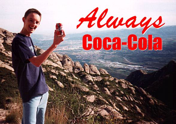 Always Coca-Cola! (Trademarks acknowledged.)