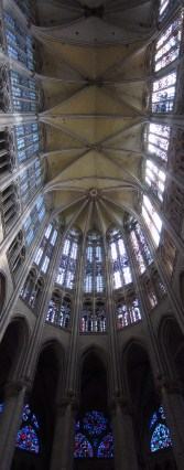 The highest church vault in the world.