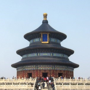The Hall Of Prayer For Good Harvests at The Temple Of Heaven.