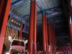Inside the Temple Of Confucius.