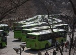 The bus to Badaling is the usual way to get to the Great Wall from Beijing, and is extremely popular.