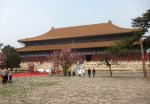The sacrificial hall at the Changling mausoleum (second largest traditional building in China after The Hall Of Supreme Harmony).