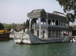 Empress Dowager Cixi's Marble Boat.