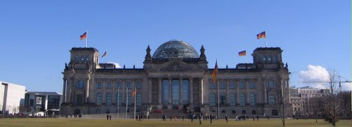 The Reichstag, Berlin.