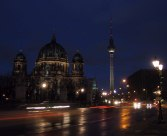 Berliner Dom and the TV tower.