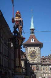 The bear that, by legend, gave Bern its name