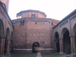 The church of the Holy Sepulchre (originally the Roman Temple Of Isis), part of Santo Stefano ('The Seven Churches')