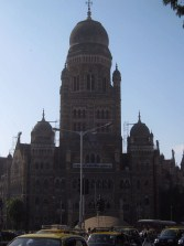 The Municipal Corporation Building.
