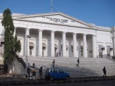 The old town hall (now the Asiatic Society).
