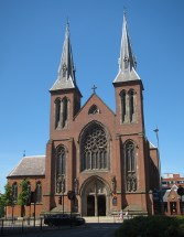The Catholic cathedral (St. Chad's).