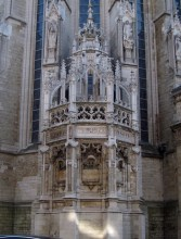 Part of the Sablon Church