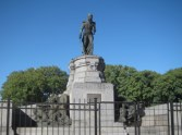 Admiral William Brown, an Irishman who went to Argentina - via Philadelphia - and formed the Argentine navy.