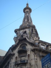 El Molino cafe, one of the city's extravagant art nouveau buildings.