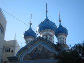 The Russian Orthodox Cathedral.
