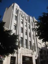 Art deco building 'Fraternidad'.