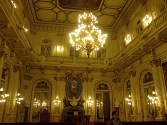 The White Hall in the Casa Rosada.