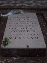 The grave of William The Conqueror