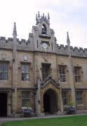 Sidney Sussex College.