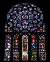 The north rose window
