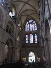 The nave (towards the west front)