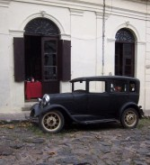 An old car
