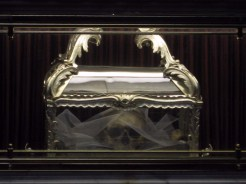 The skull of Saint Stephen