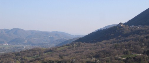Greccio and the Rieti valley.