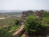 View from Golconda.