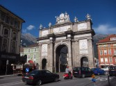 The triumphal arch of Maria Theresa