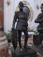 Bronze of King Arthur, of England