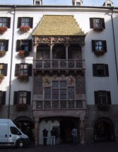 The Golden Roof of Innsbruck, commissioned by Maximilian I