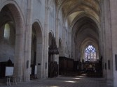 The abbey nave