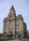 The Royal Liver Building - echoes of Ferrissian Manhattan