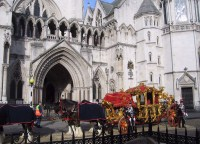 The Lord Mayor's carriage