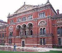 V and A