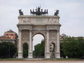 The Arch Of Peace, built under Napoleonic rule