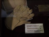 Gloves worn by Napoleon at Waterloo