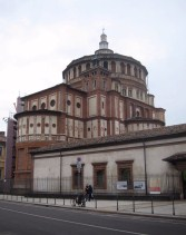 Santa Maria Delle Grazie, where Da Vinci's Last Supper resides