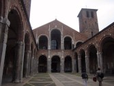 The Basilica Of St. Ambrose, bishop of Milan