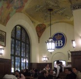 A beer hall