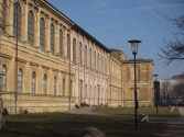 The Alte Pinakothek, with bomb damage