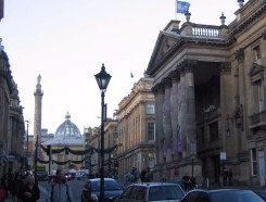 Theatre Royal and Grey's Monument