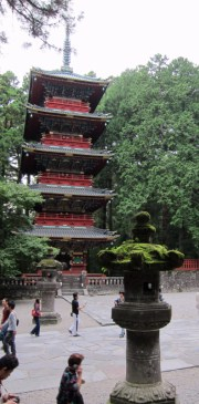 Gojunoto, the five-storied pagoda.