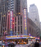 Radio City Music Hall, part of the Rockefeller Centre.