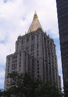 The New York Life building, facing Madison Square Park.